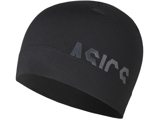 asics Logo Beanie Unisex Performance Black